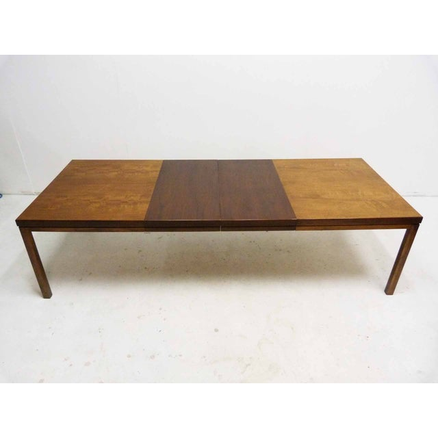 Milo Baughman-Attributed Parsons Dining Table - Image 2 of 9