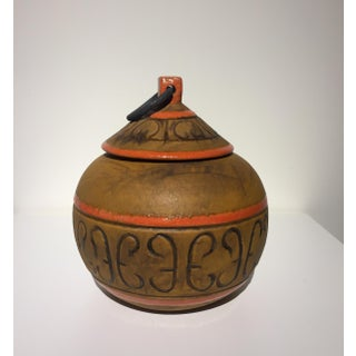 Italian Terracotta Pot With Lid Preview