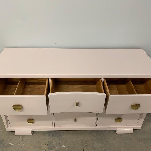 Vintage Mid Century Painted Dresser For Sale - Image 11 of 13