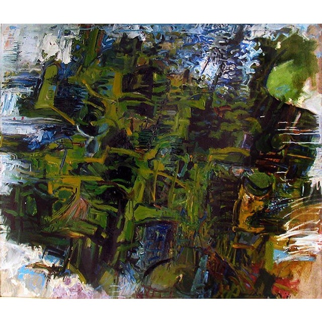 Abstract William Pachner, the Forrest, 1961 For Sale - Image 3 of 3