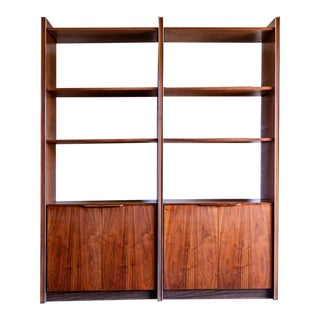 1960s Mid-Century Modern Barzilay Wall Unit For Sale
