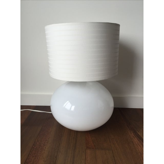 Modern White Lamp - Image 2 of 5