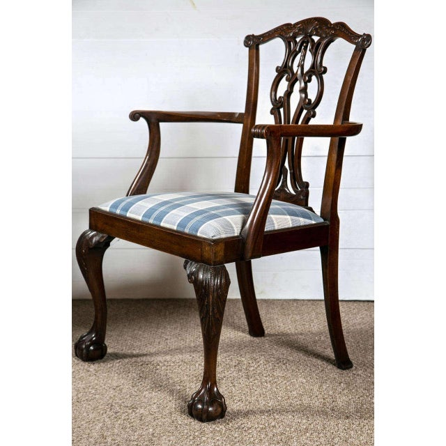 Chippendale Dining Chairs - Set of 8 - Image 7 of 9