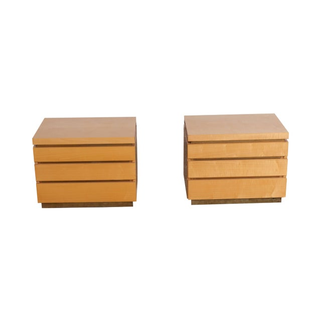 Jean Claude Mahey Jean Claude Mahey Bed Side Tables For Sale - Image 4 of 7