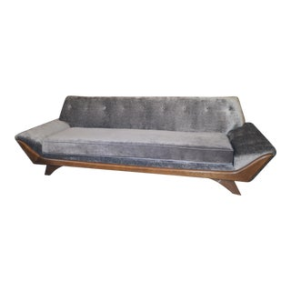 Vintage Mid Century Modern Adrian Pearsall for Craft Associates Gondola Sofa For Sale