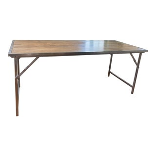 Jaimie Young Company Modern Campaign Table For Sale