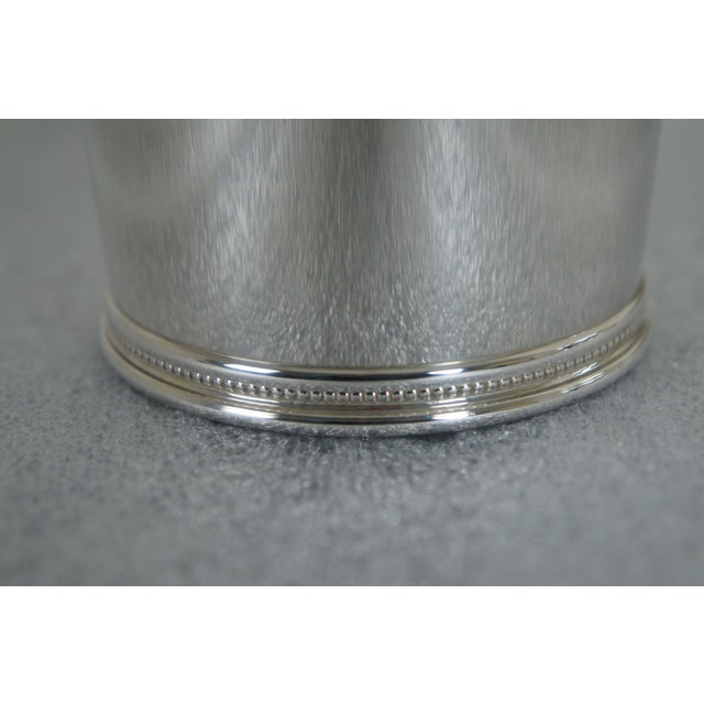Silver Sterling Silver Mark J Scearce Presidential Mint Julep Cups Richard Nixon Rmn - Set of 3 For Sale - Image 8 of 13