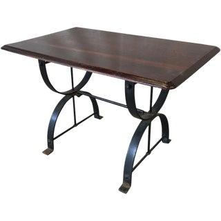 English Antique Pub Table For Sale