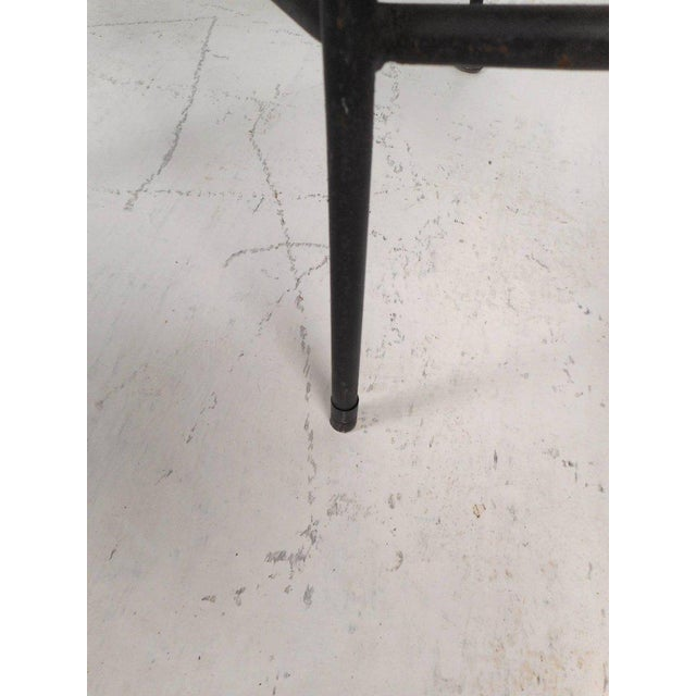 Wrought Iron Bar Stools by Arthur Umanoff - Set of 3 For Sale In New York - Image 6 of 10
