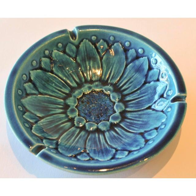 Mid-Century Freeman McFarlin Floral Bowl - Image 3 of 7
