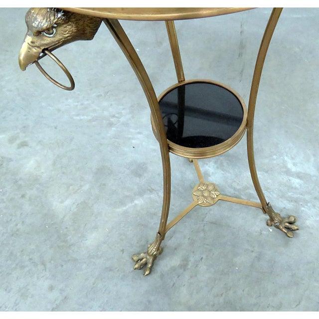Regency Style Granite Top Gueridon For Sale - Image 4 of 11