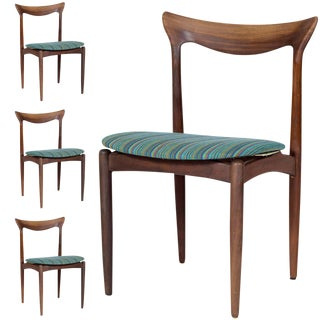 Set of Four Danish Dining Chairs For Sale