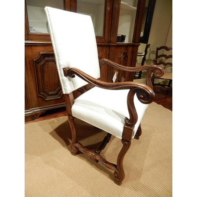 Late 19th Century Italian Walnut Armchair For Sale - Image 9 of 9