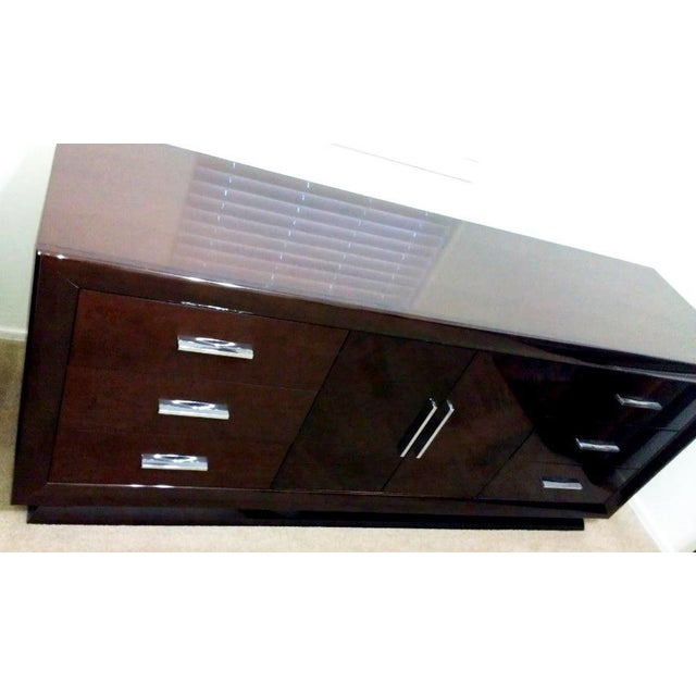 Contemporary Excelsior Designs Italian High Gloss Dresser For Sale - Image 3 of 7