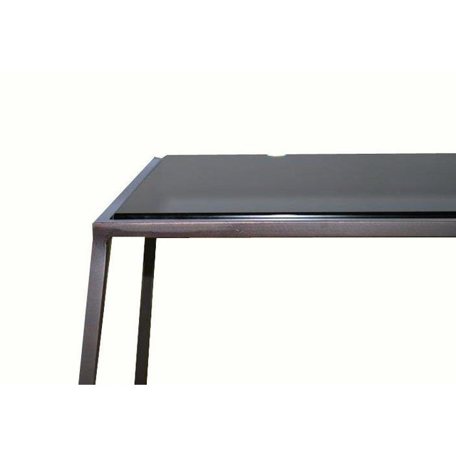 Customizable Richard Glass Top Table - Image 9 of 10