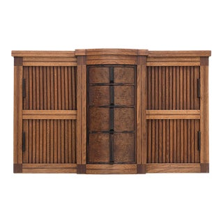 1930s Interbellum Art Deco Wall Mounted Cabinet For Sale