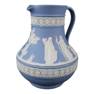 Vintage Mid-Century Wedgwood Pitcher For Sale
