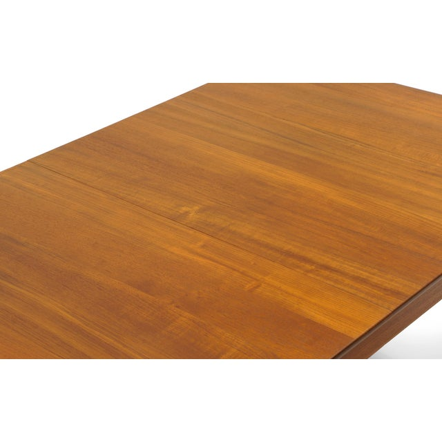 Finn Juhl Teak Dining Table, Expandable with Two Leaves, Exceptional Condition - Image 10 of 11
