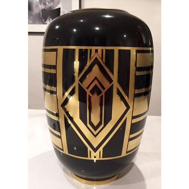 "Ralph Lauren ""Callia"" Diamond Art Deco Vase - Image 3 of 6"