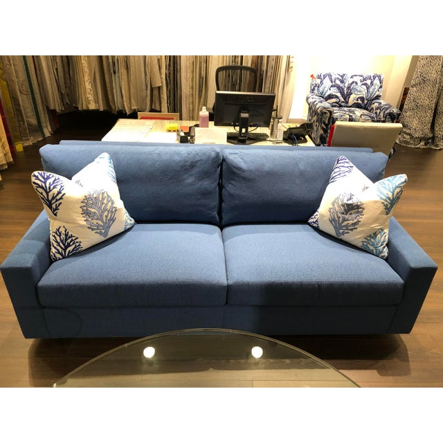 Scalamandre Chicago showroom sample We are moving our showroom in Chicago and need to sell of some samples this sofa is...
