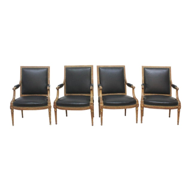 2 Oor Fauteuils.Louis Xvi Style Fauteuils Group Of Four Or Two Pairs