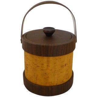 Vintage Cork Ice Bucket