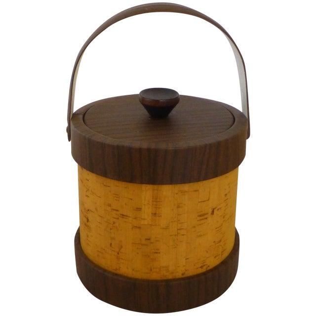 Vintage Cork Ice Bucket - Image 1 of 9