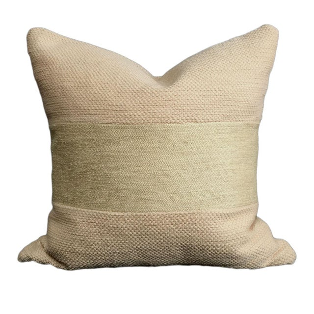 Natural Linen Pillows - a Pair - Image 3 of 5