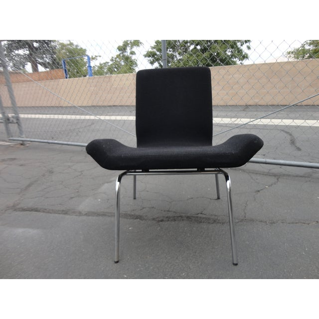 Mid-Century Modern Swedish Modern Bjorn Dahlstrom Cbi Gondola Lounge Chairs - A Pair For Sale - Image 3 of 6
