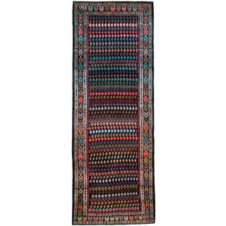 "Vintage Persian Hamadan Runner - Size: 4' 1"" X 11' 3"" For Sale"
