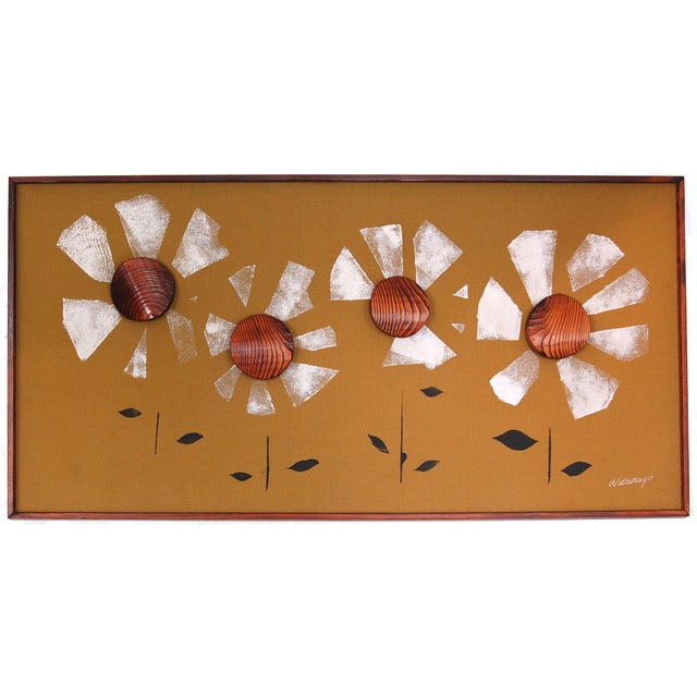 Witco Wilrongo Daisies Wall Art - Image 1 of 7