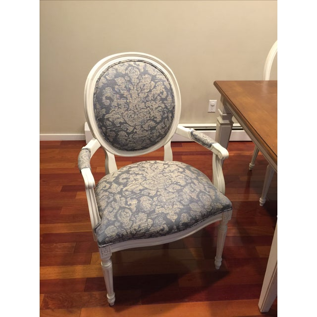 Ethan Allen Avery Style Dining Table For Sale - Image 5 of 6
