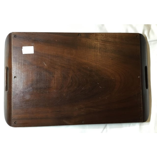 Brazilian Butterfly Wood Tray For Sale - Image 9 of 13