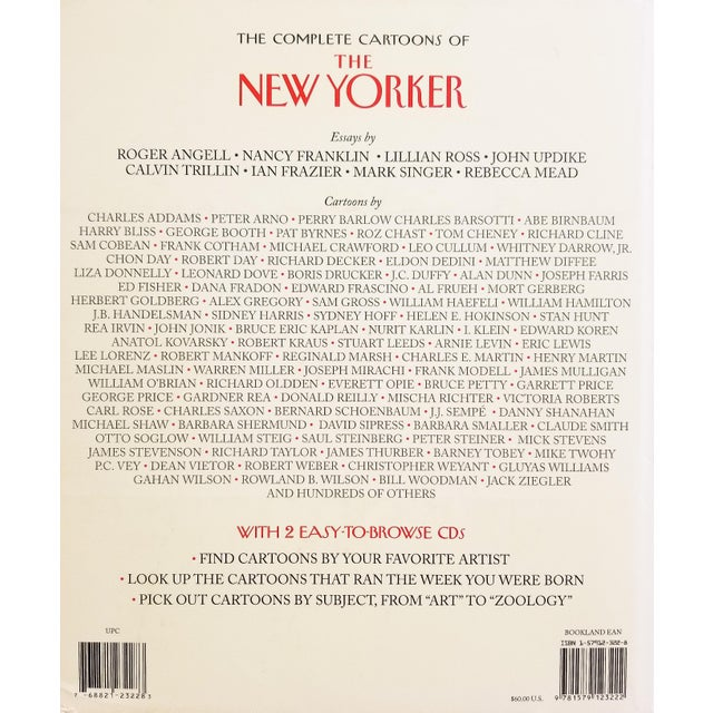 The Complete Cartoons of The New Yorker, edited by Robert Mankoff, foreword by David Remnick. Includes two CD's with all...