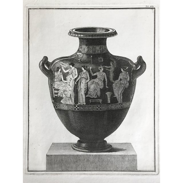 Neoclassical 18th Century Engraving of Greek Hydra For Sale - Image 3 of 5