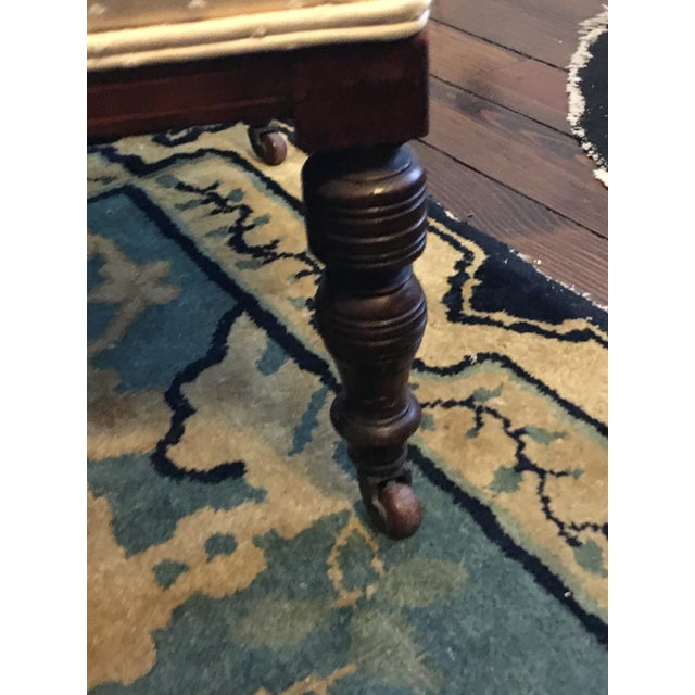 Brown Antique Hepplewhite Shield Back Side Chairs - a Pair For Sale - Image 8 of 10