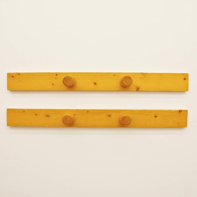 Farmhouse 1960s Scandinavian Charlotte Perriand Coat Racks - a Pair For Sale - Image 3 of 7