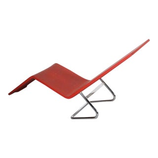MVS Chaise Lounge by Maarten van Severen w/ Distressing and Patina, Belgium For Sale
