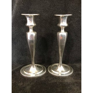 Tiffany and Co. Antique Signed Sterling Silver Candle Holders - a Pair Preview