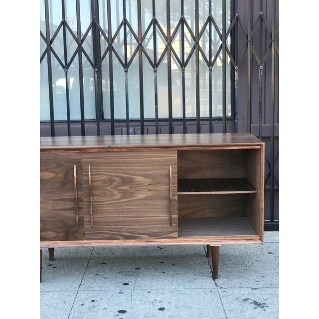 Contemporary Media Stand With Arched Handles For Sale - Image 11 of 12