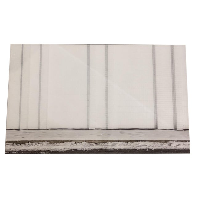 Contemporary Urban Storefront Plexi Mounted Photograph For Sale