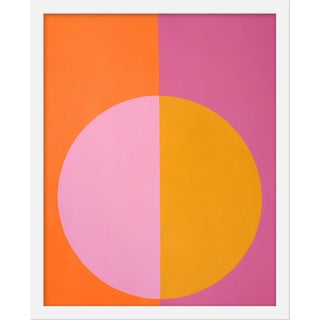 "Small ""Pink and Orange Forever"" Print by Stephanie Henderson, 16"" X 20"" For Sale"
