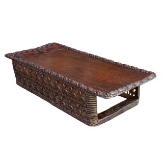 20th Century Long Bamileke African Carved Bed For Sale