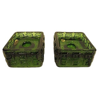 Finnish Retro Candle Holders - A Pair