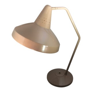 Vintage Mid-Century Rolph Scarlett Retro Swivelier Desk Lamp For Sale