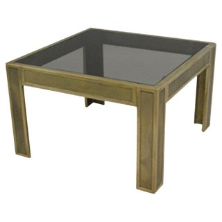 Cast Bronze Side Table For Sale