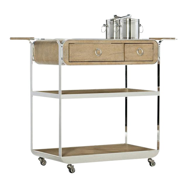 Kenneth Ludwig Chicago Novelle Beach Bar Cart For Sale