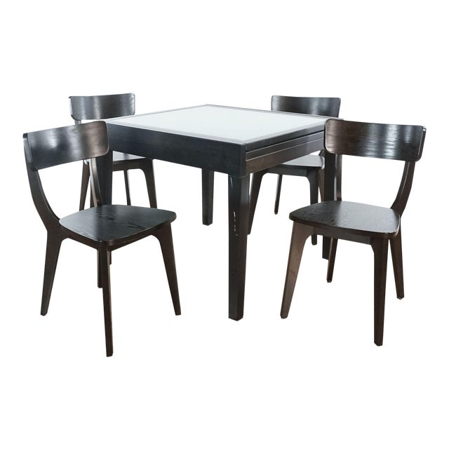 Design Within Reach Five-Piece Dining Set For Sale