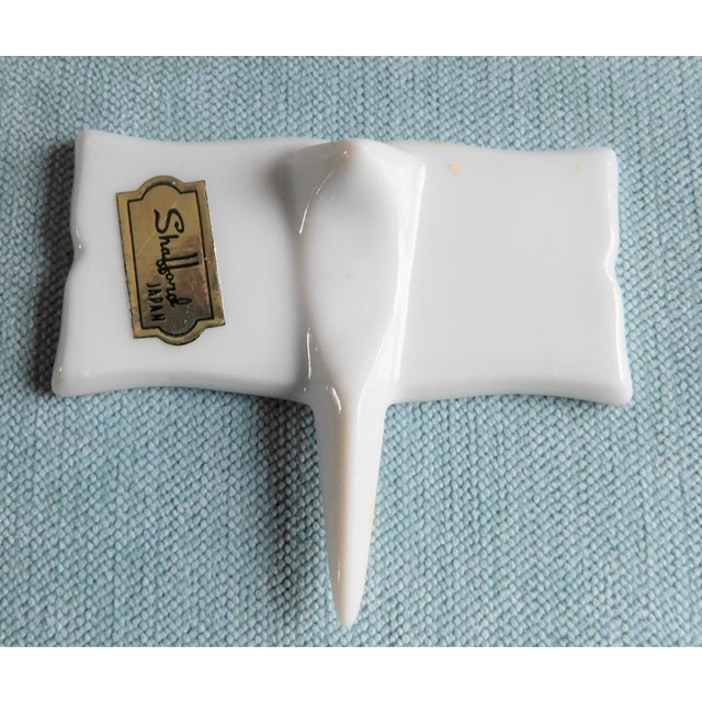 Shafford China Mid-Century Porcelain Cheese Markers - Set of Six For Sale - Image 4 of 9