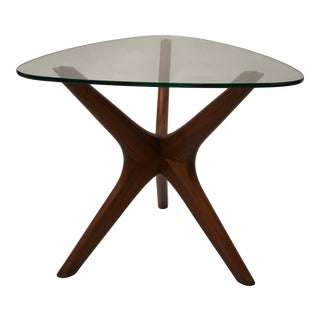 Mid-Century Modern Sculptural Side Table by Adrian Pearsall For Sale